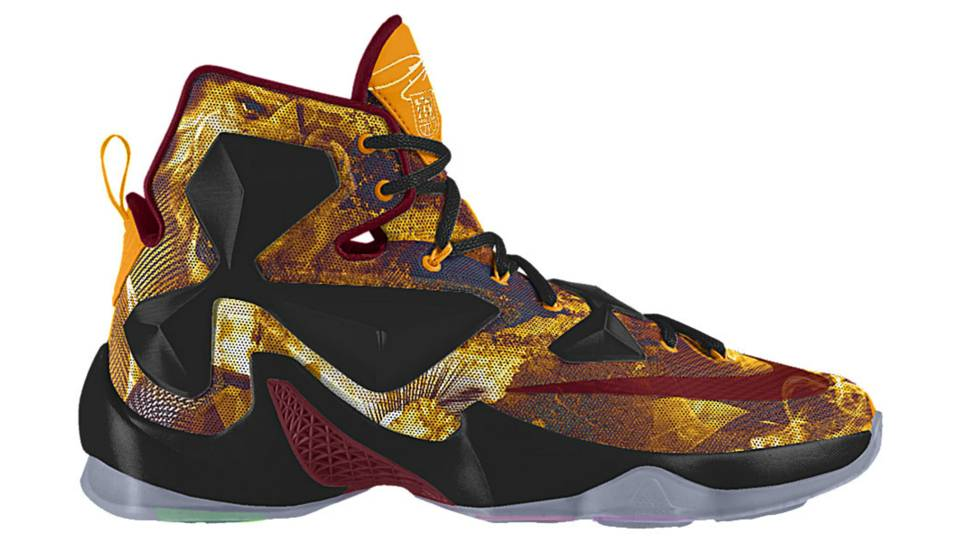 b3e895702887 LeBron James gets a limited-edition shoe for his 25