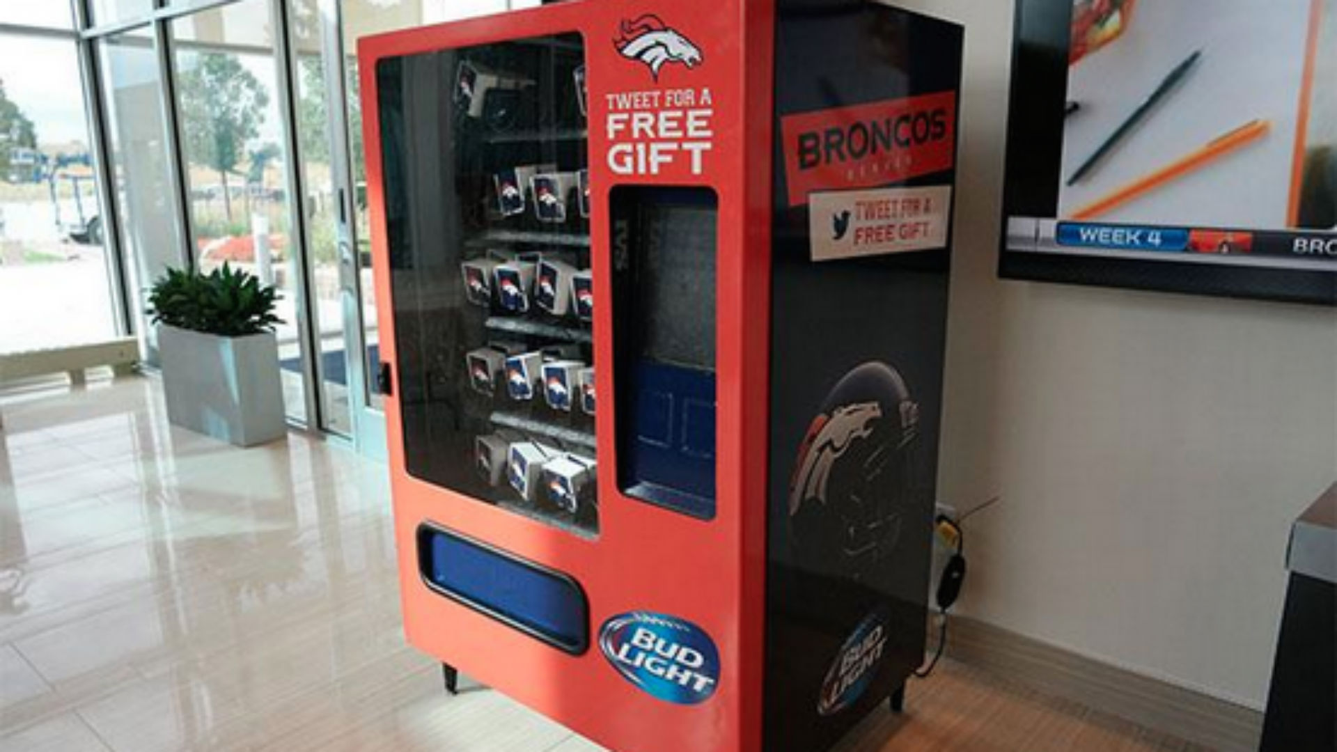 nfl vending machine