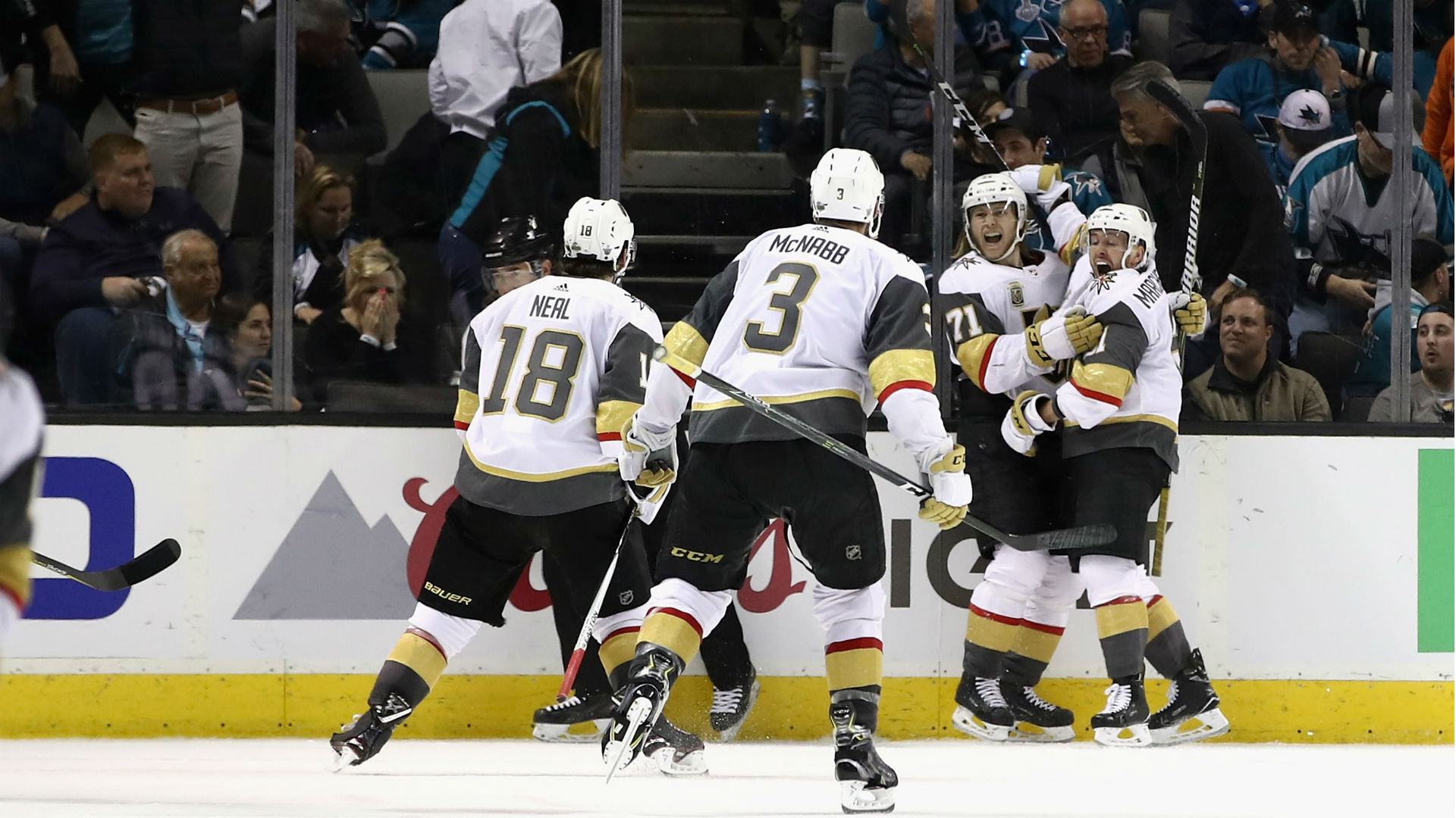 NHL Playoffs 2018: William Karlsson Plays OT Hero As Golden Knights Edge Sharks