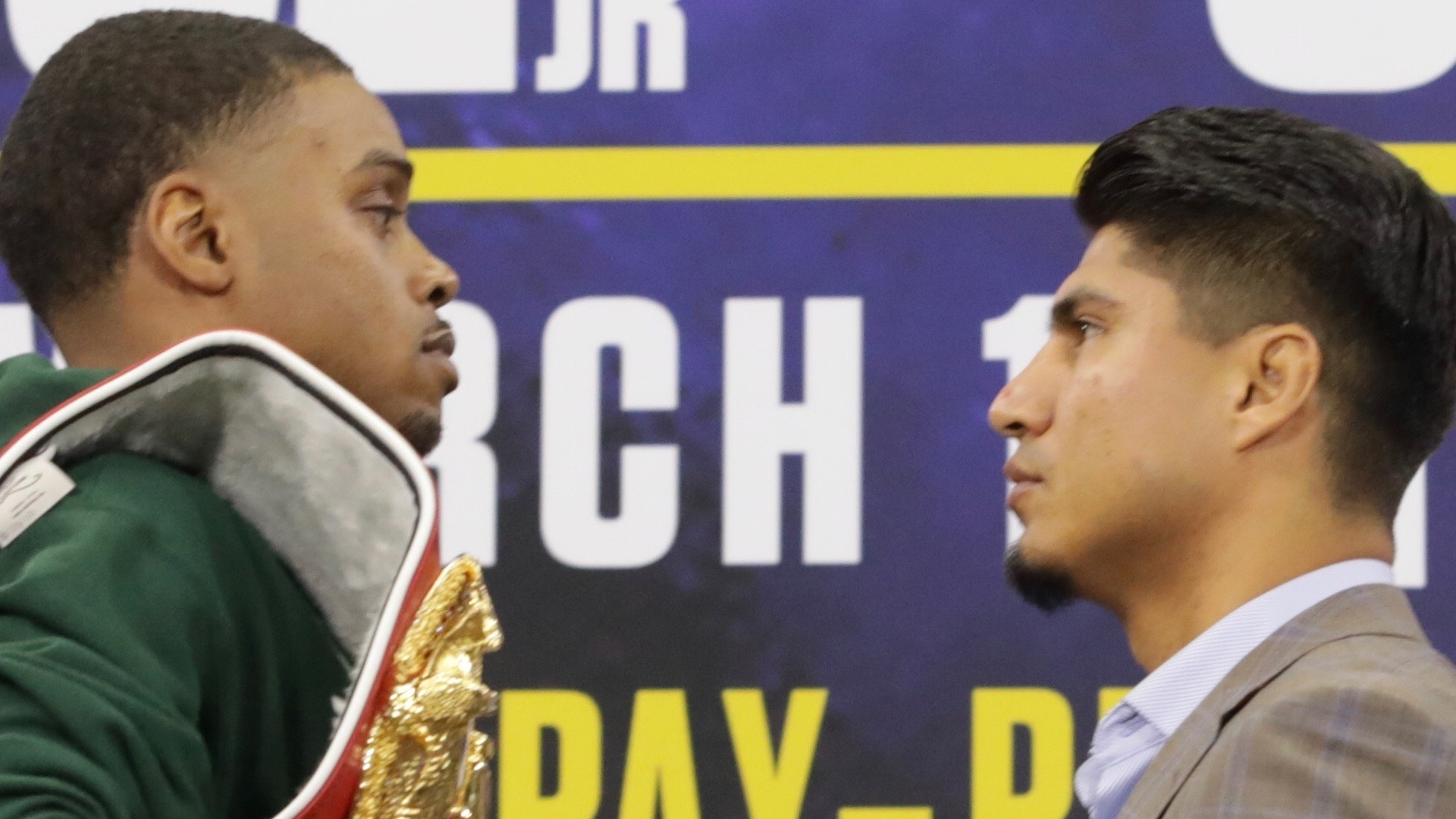 Errol Spence Jr. On Mikey Garcia:
