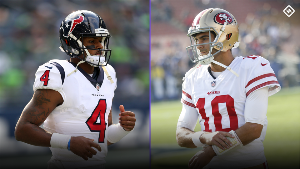 NFL MVP odds 2018: Jimmy Garoppolo, Deshaun Watson are hot early sleepers