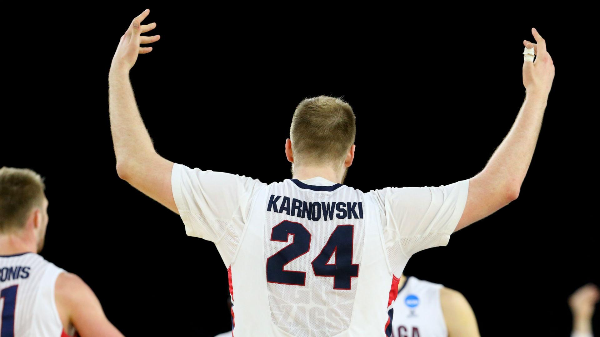Gonzaga big man 'Magic Przemek' puts on Sweet 16 show against UCLA