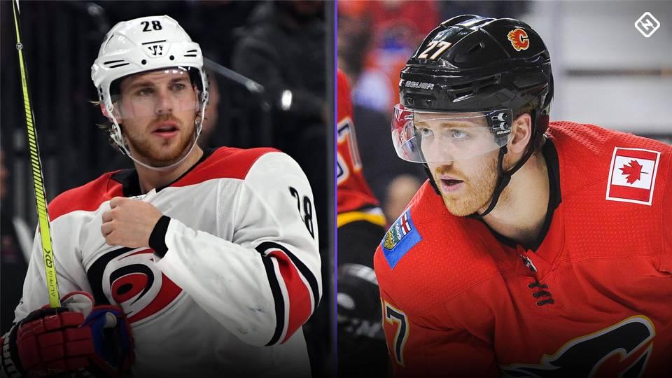 Flames, Hurricanes swap Dougie Hamilton, Elias Lindholm in 5-player draft blockbuster