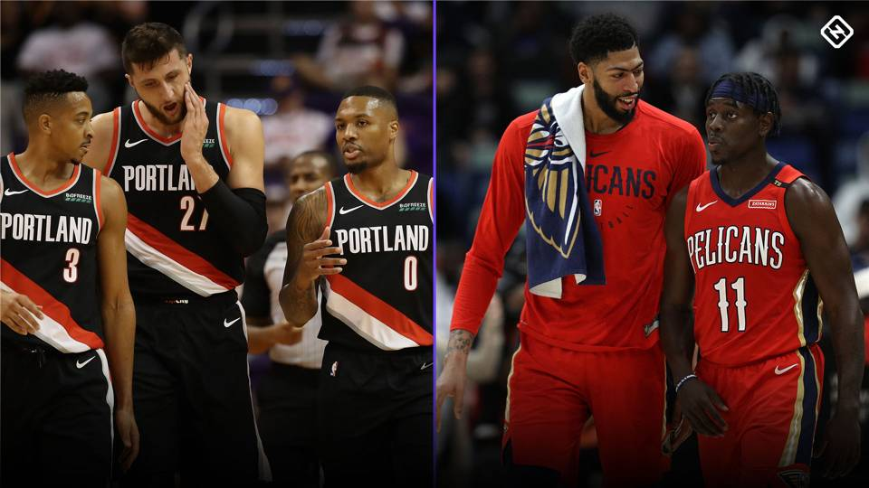 NBA trade rumors: These teams are willing to give up first-round picks, Sporting News sources say Trail-blazers-pelicans-split-getty-011119-ftrjpg_75a6s1sk08iy1kv2mnzgsjn8h