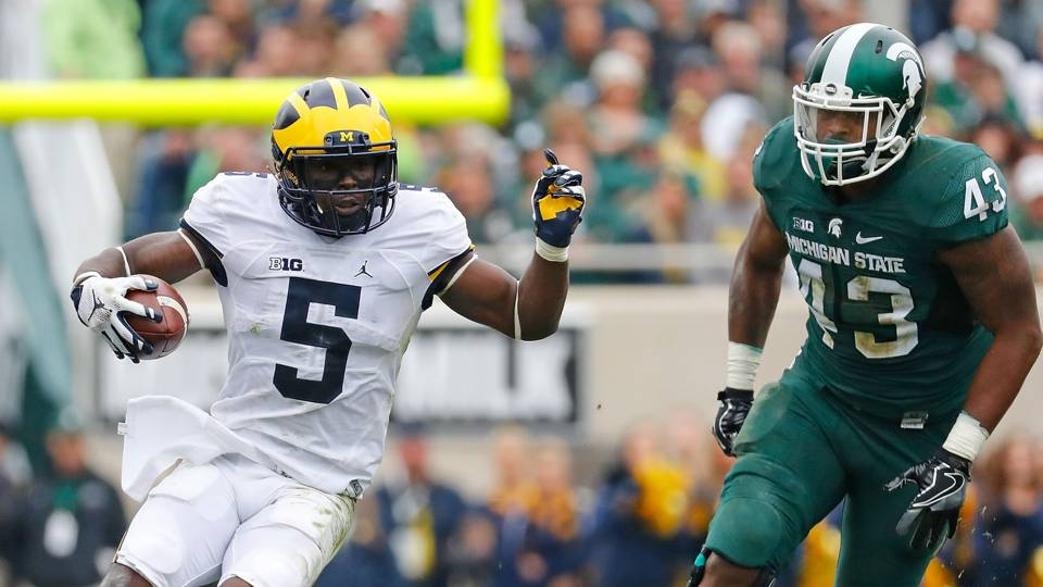 Michigan's Jabrill Peppers caps off win at Michigan State ...