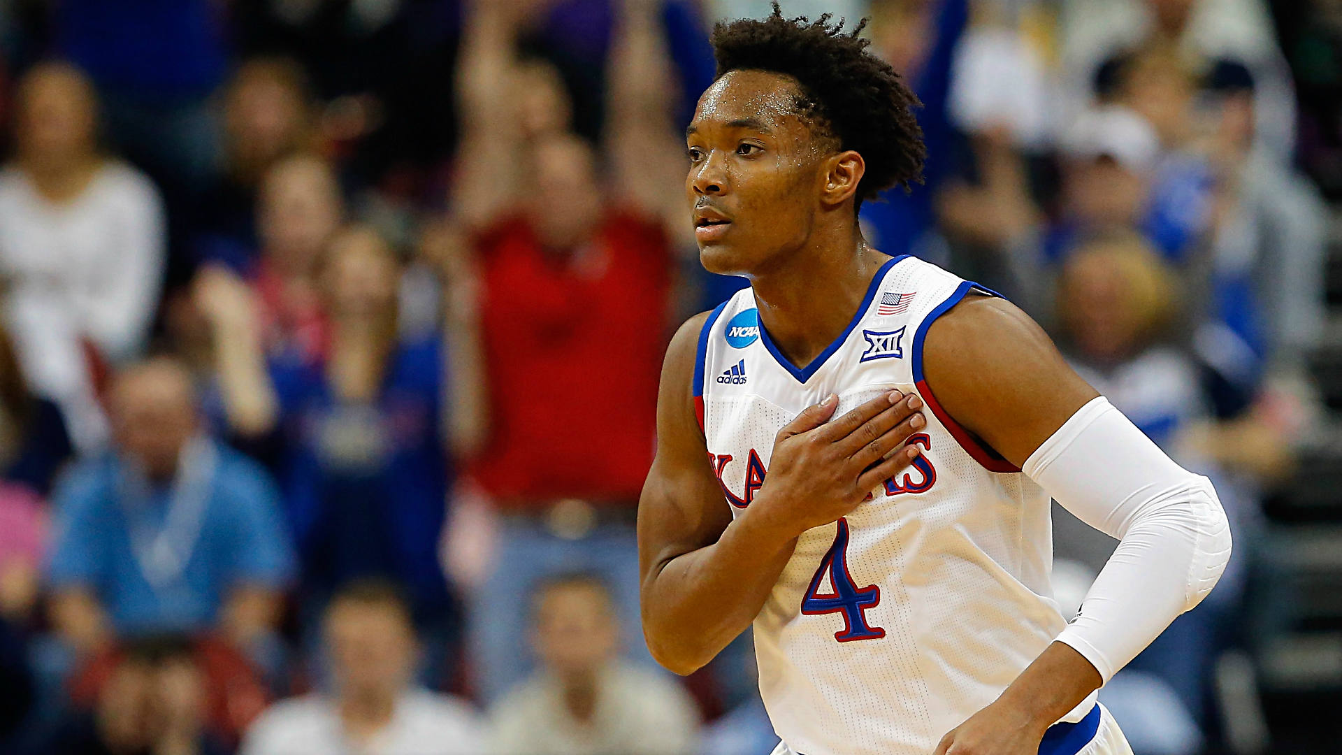 Late foul call on Kansas' Devonte' Graham was a curious ...