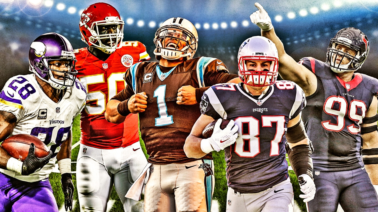 Sporting News 2015 NFL All Pro Team Coaches Crown The Seasons Best Players