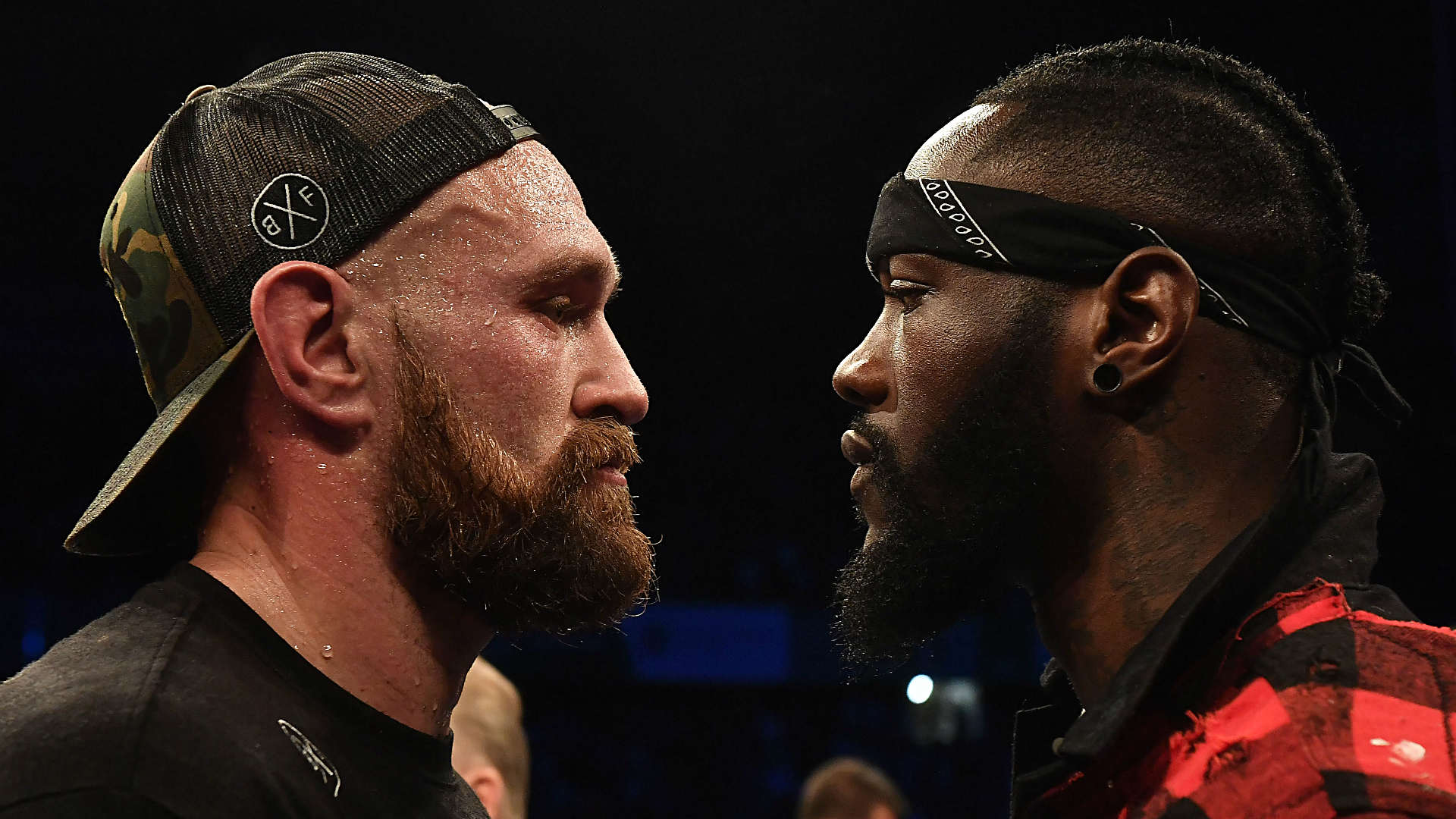 Wilder pushes Fury in frenetic press conference