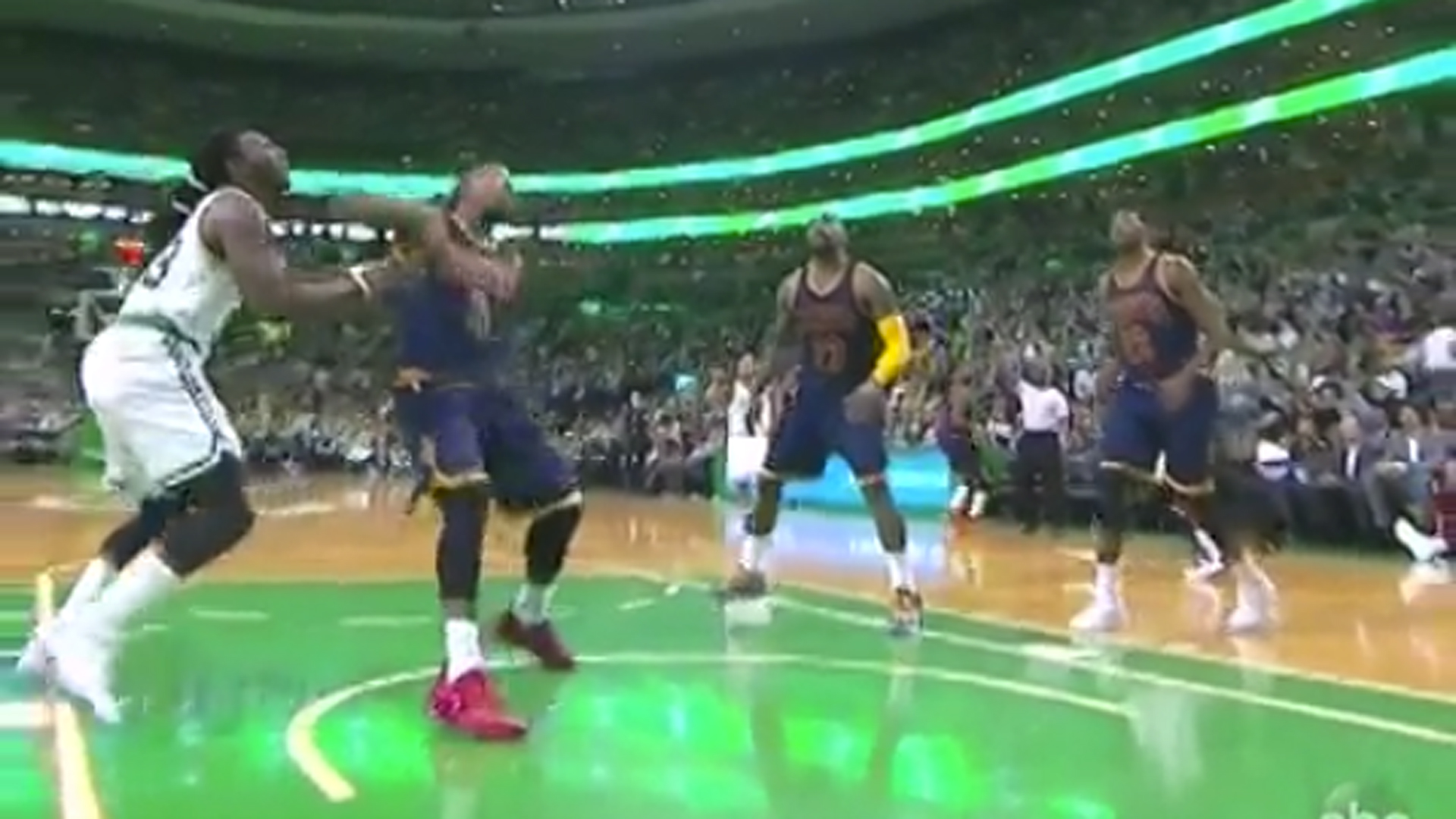 Celtics, Cavs continue to get chippy; J.R. Smith ejected following forearm to Jae Crowder