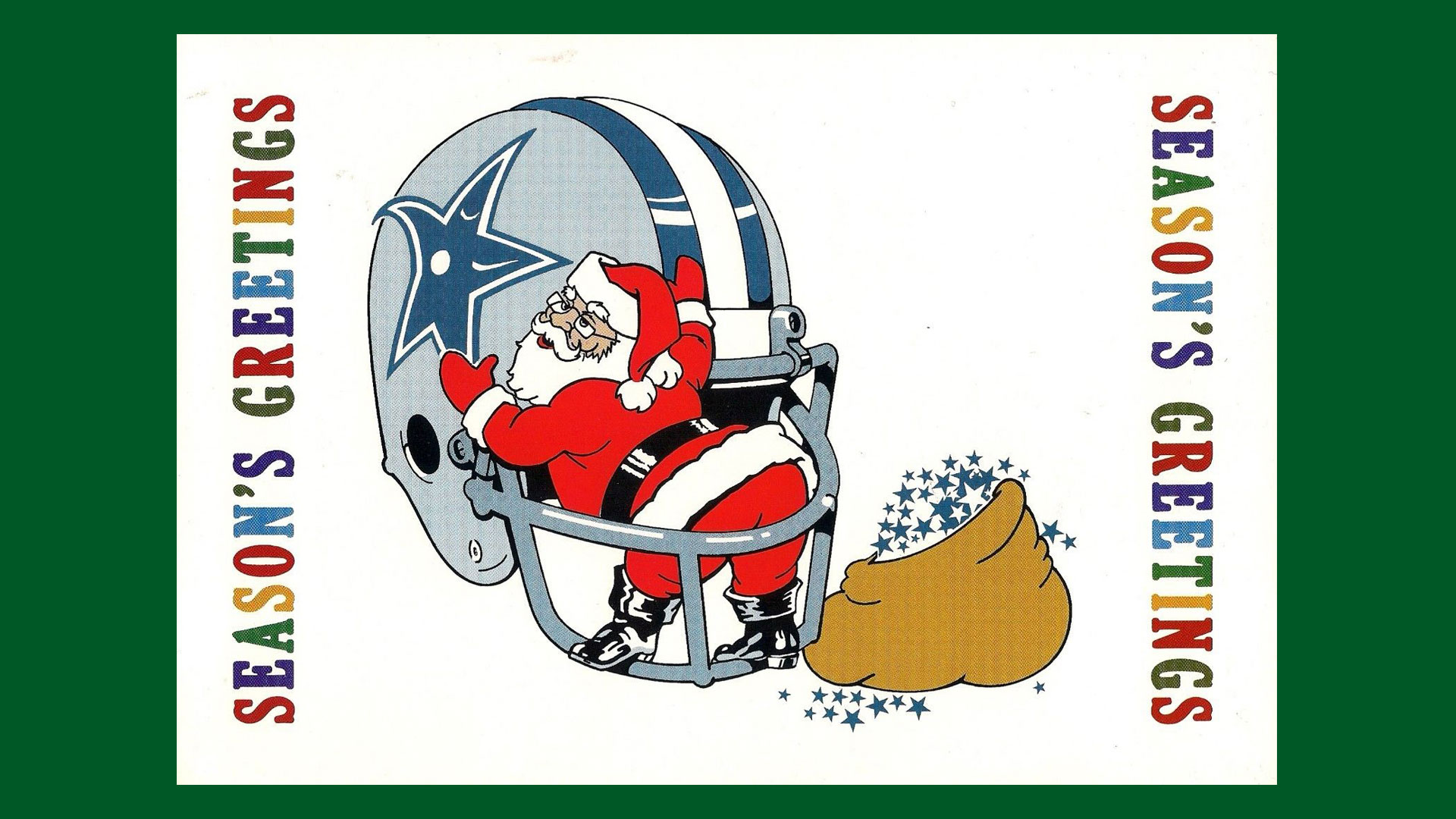 Vintage Holiday Greetings From Your Favorite Teams