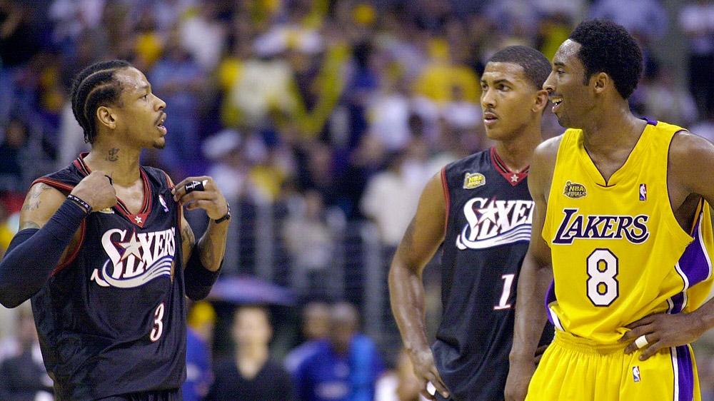 Allen Iverson honours the career of Kobe Bryant | NBA | Sporting News