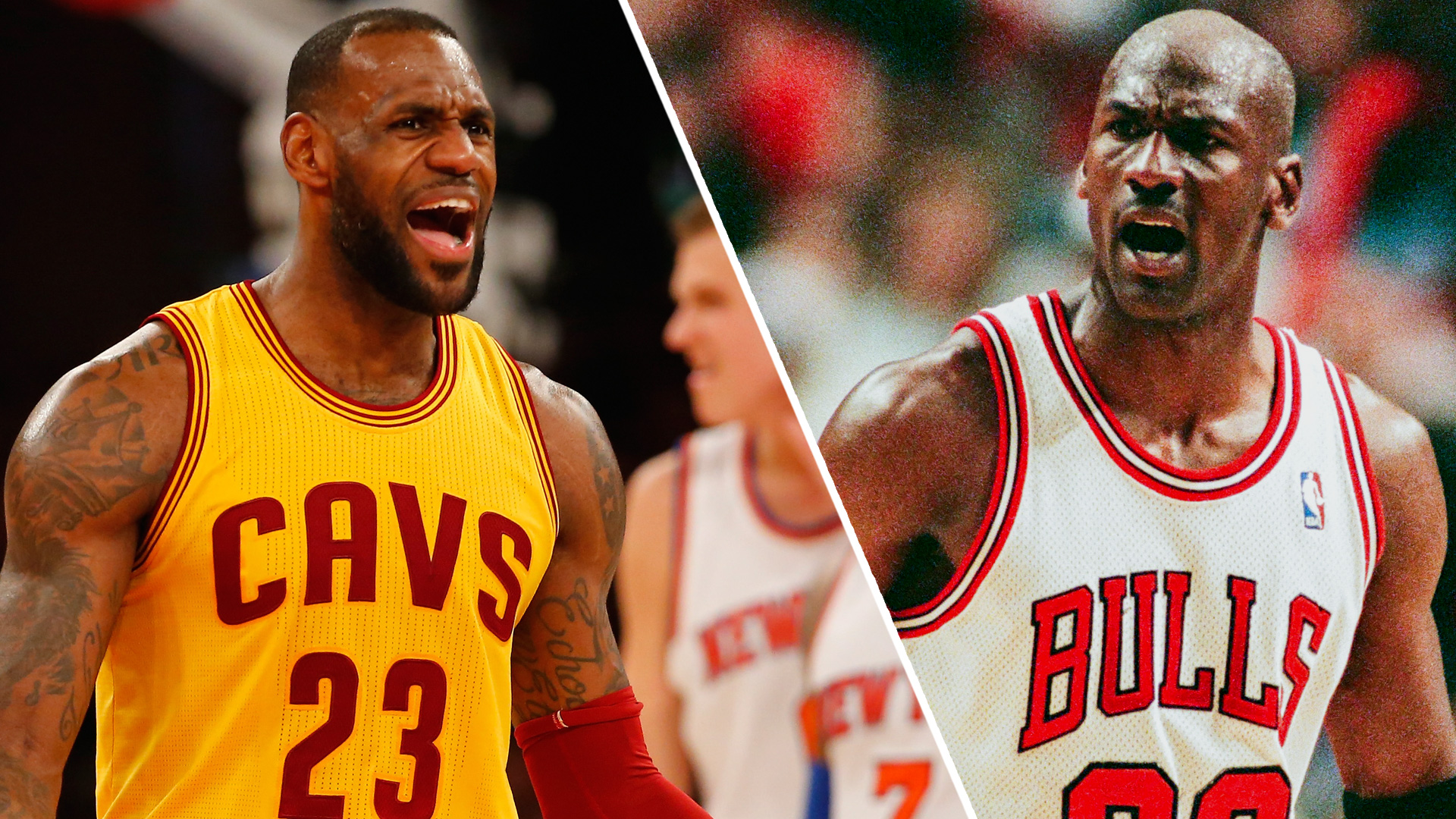 Compare and contrast michael jordan