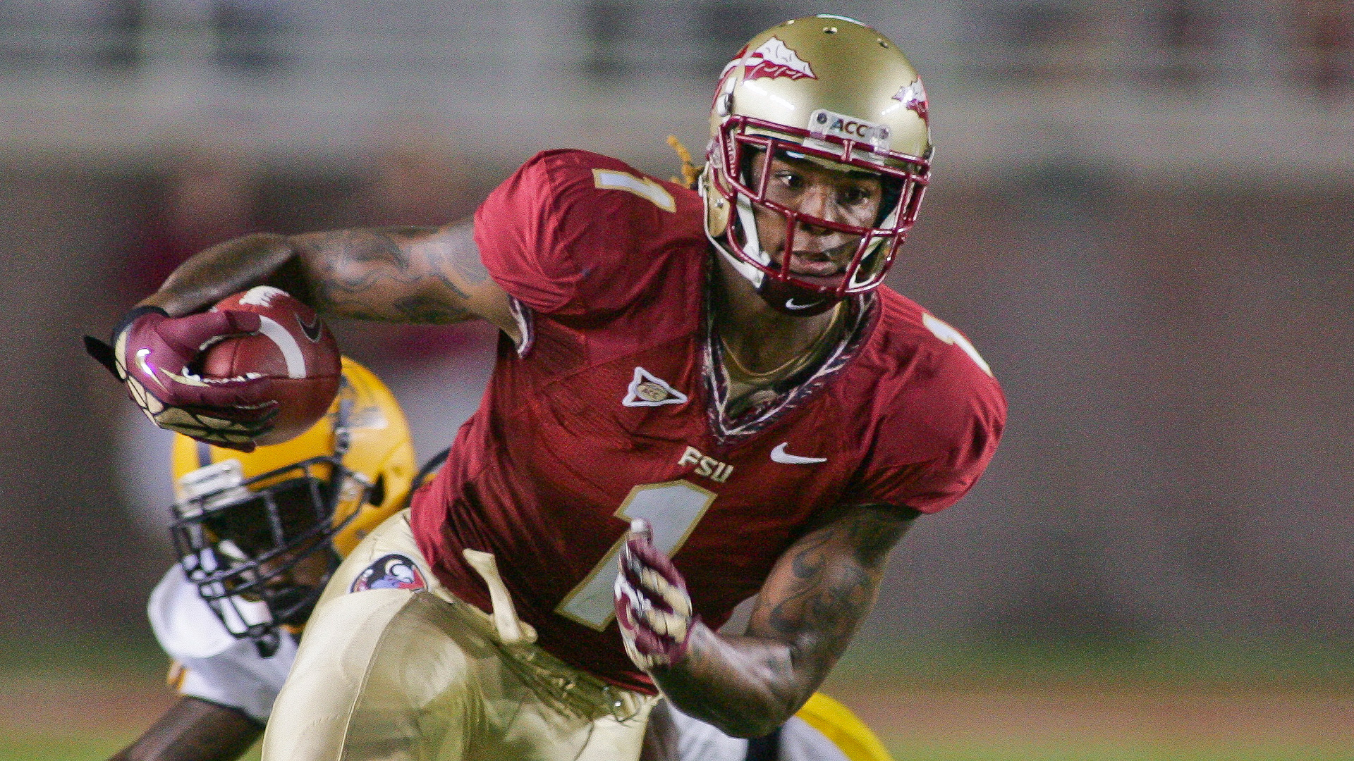 2014 NFL Draft -- Panthers select Kelvin Benjamin with No. 28 pick