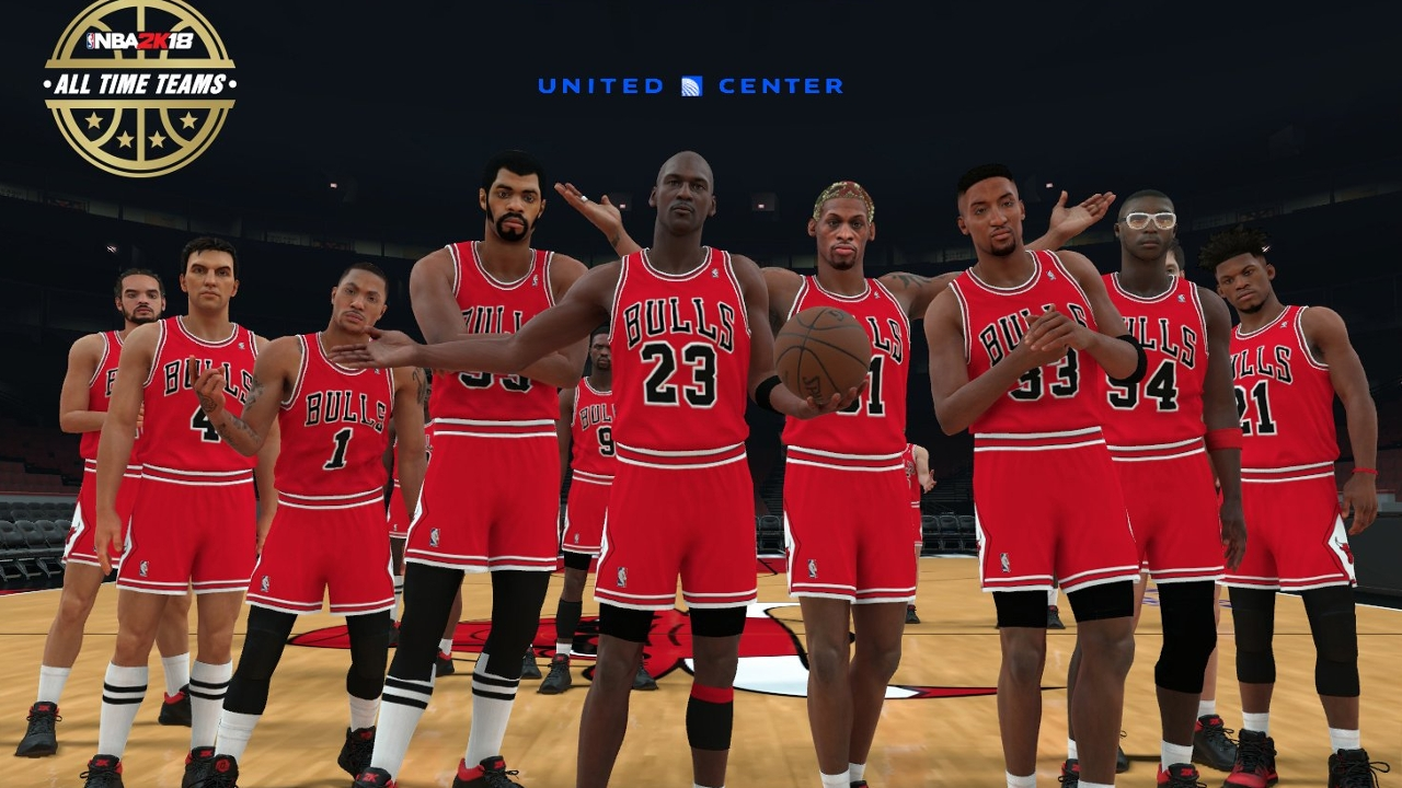 The best players of all-time come together in 'NBA 2K18'