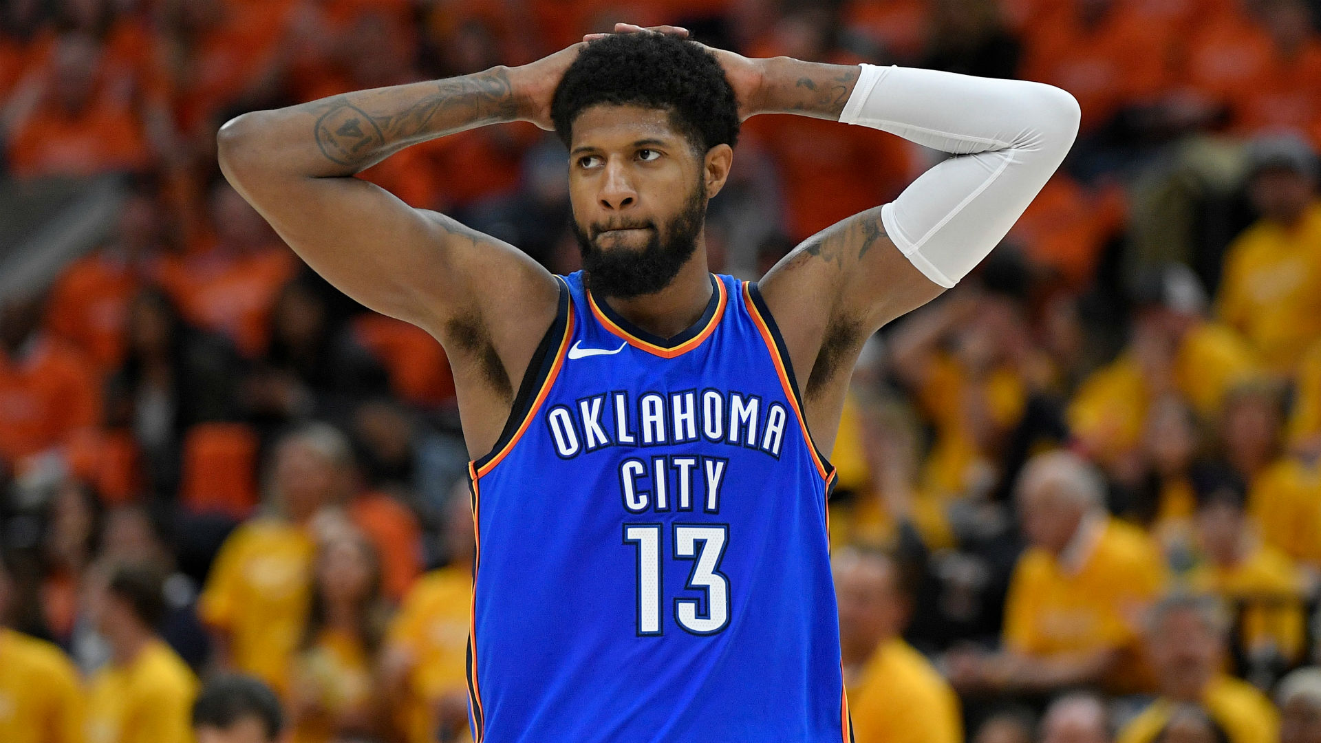 Thunder offseason outlook: How will OKC handle Paul George, Carmelo Anthony after early playoff exit ...