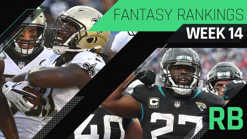 Week 14 Fantasy Rb Rankings Fantasy Sporting News