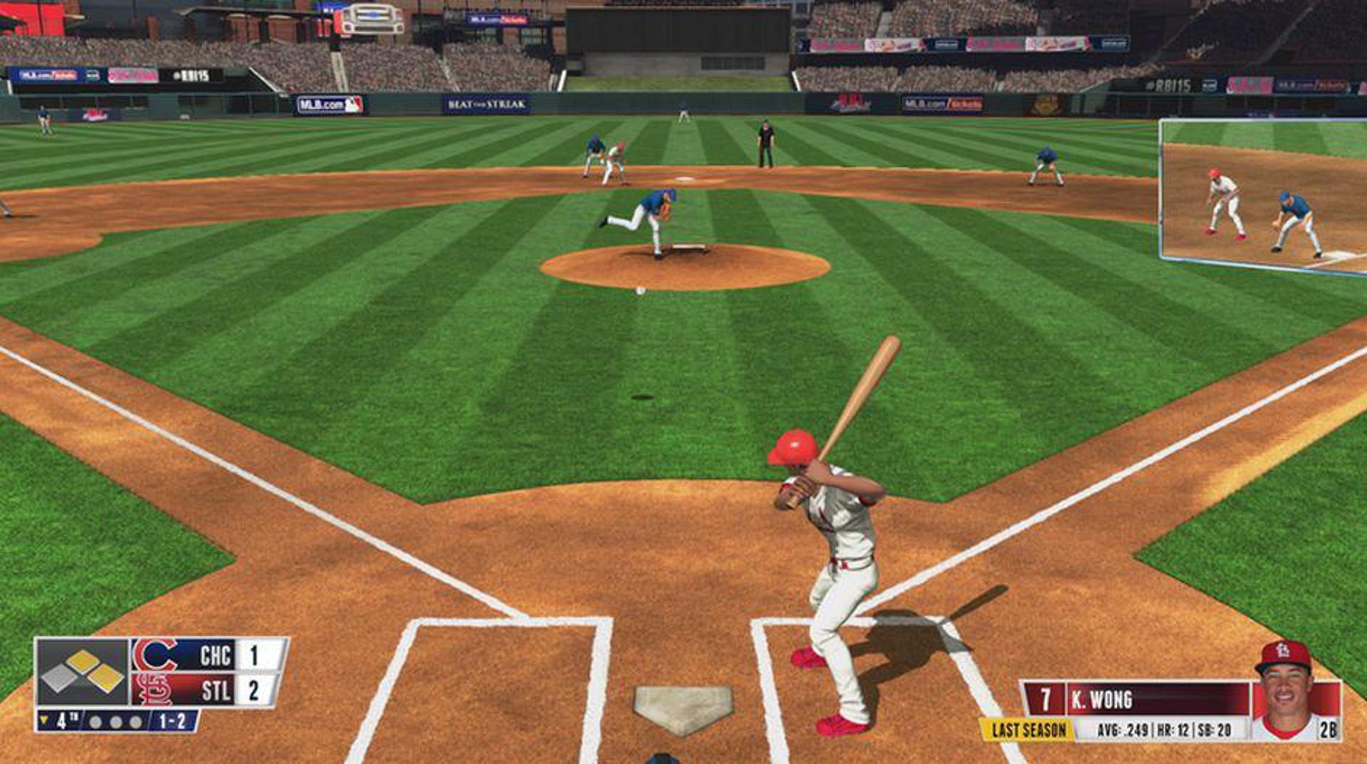 RBI Baseball 15 screenshot