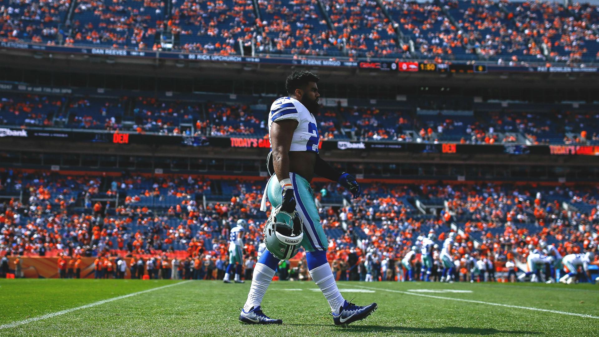 Ezekiel Elliott quit on Cowboys during loss to Broncos, critics say