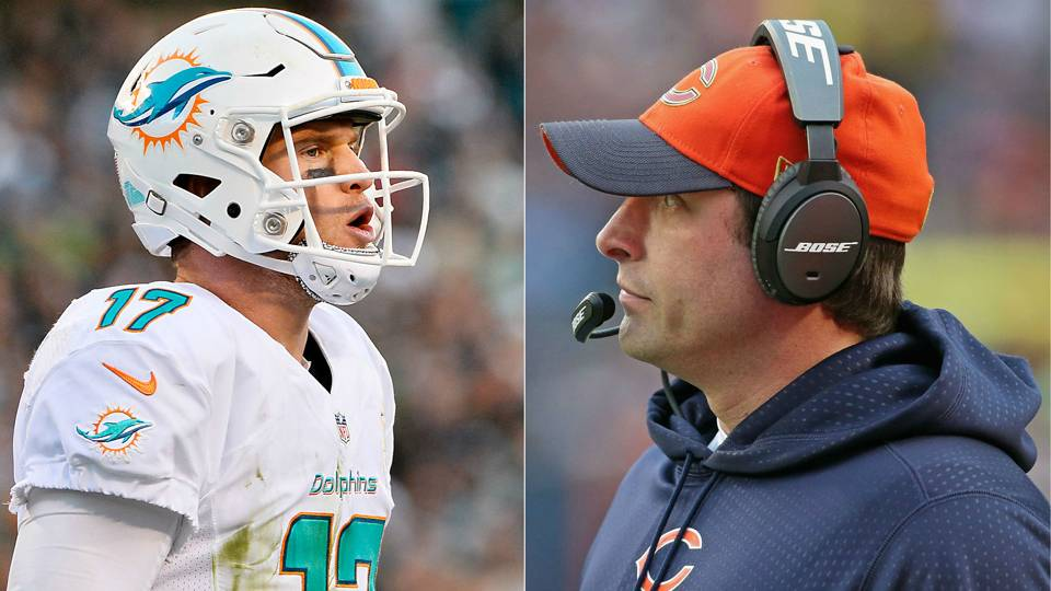 Adam Gase - Ryan Tannehill - SPLIT - Getty - FTR