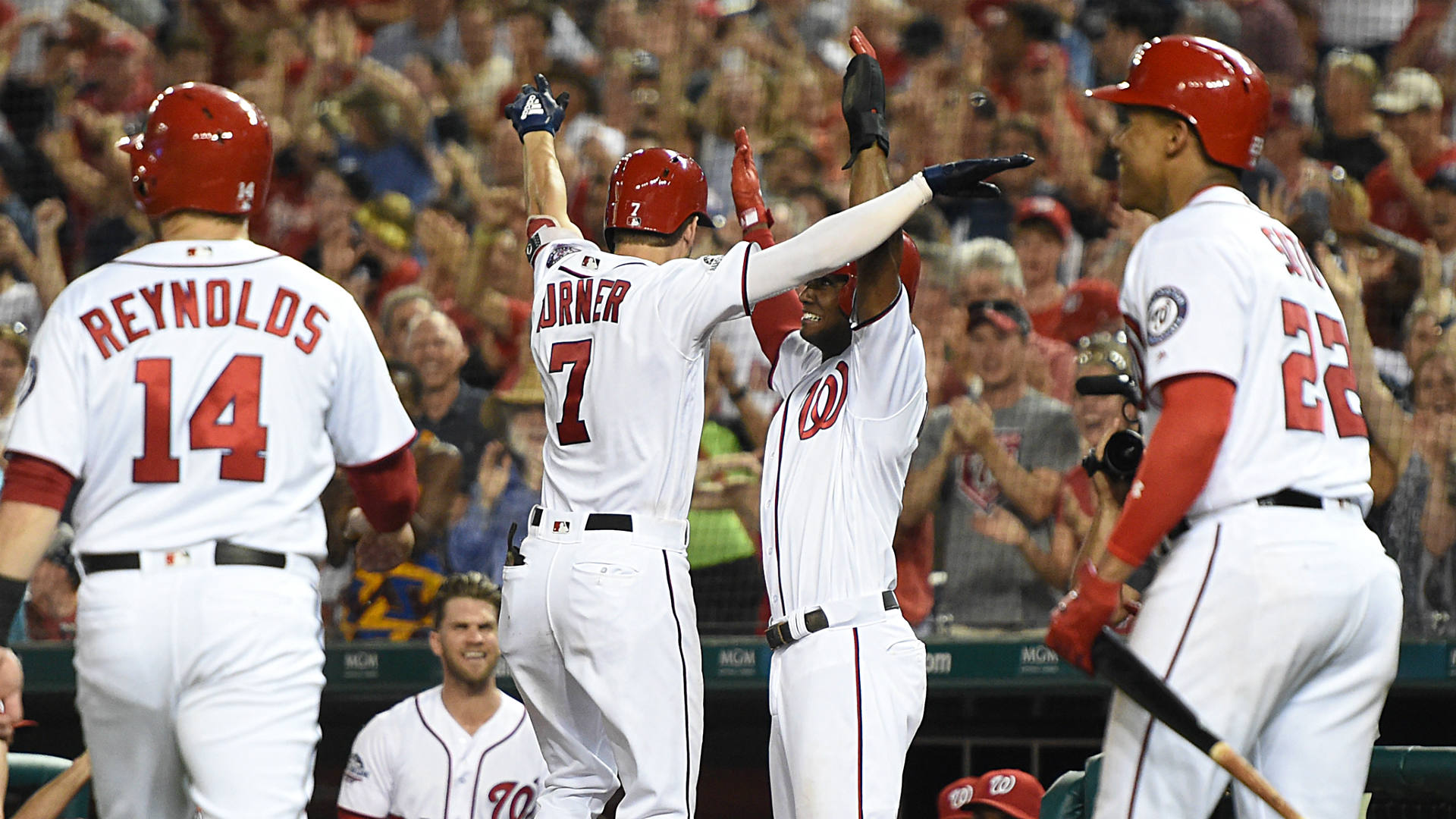 Nationals' big comeback shows why it's OK to run up the score