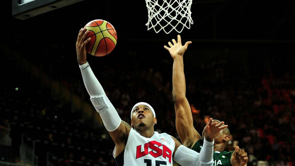 Breaking down Carmelo Anthony's record-breaking Olympic performance