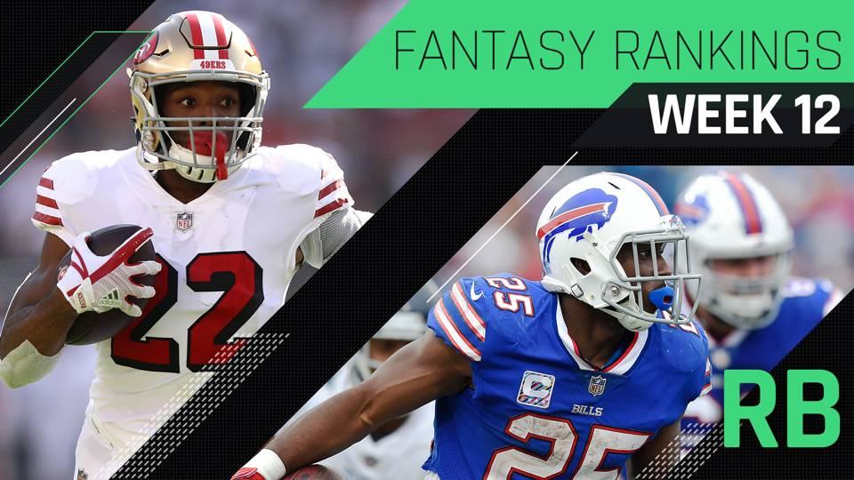 c9d8e6e04 Week 12 Fantasy RB Rankings