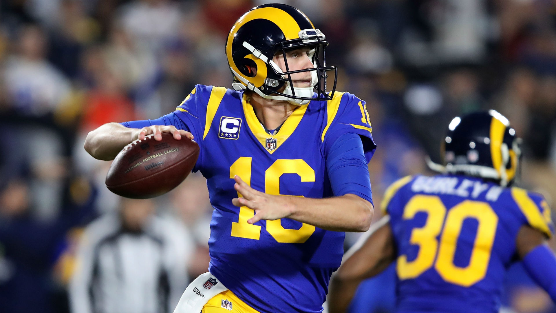 After running over Cowboys, Rams need Jared Goff to pass them to NFC title