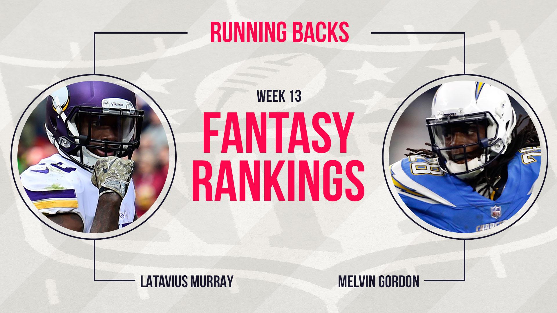 Week 13 Fantasy Rankings: Running back   Fantasy   Sporting News