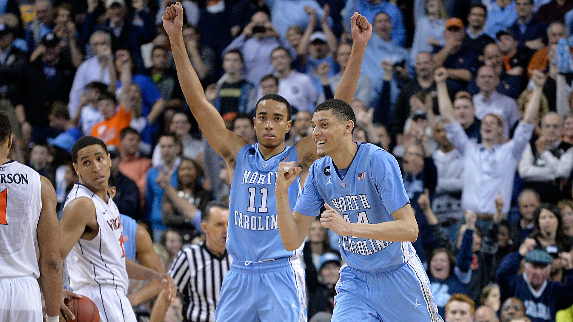Try not to lose your skin over these Brice Johnson pranks