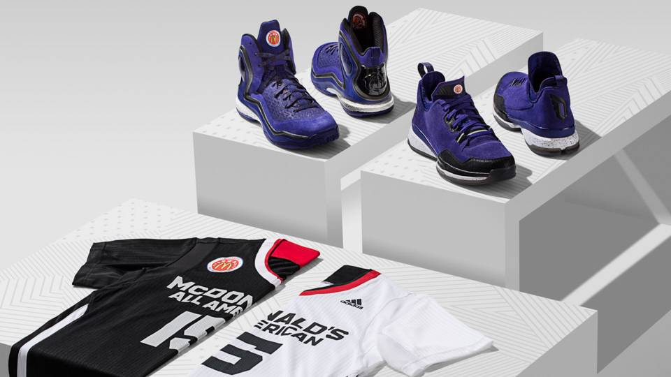 new product 60113 0dc5b adidas unveils 2015 McDonalds All-American uniforms