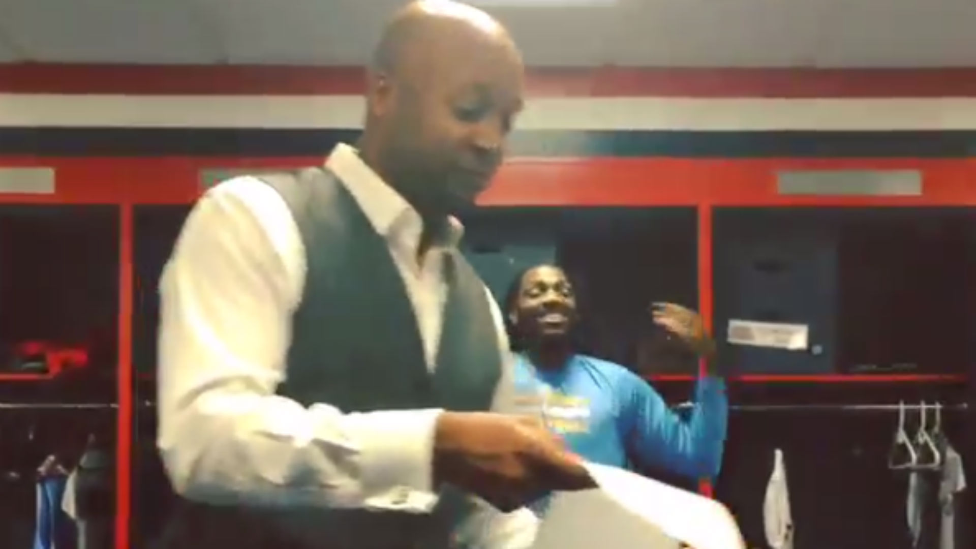 Ty Lawson posts video of Brian Shaw rapping pregame scouting report to Nuggets