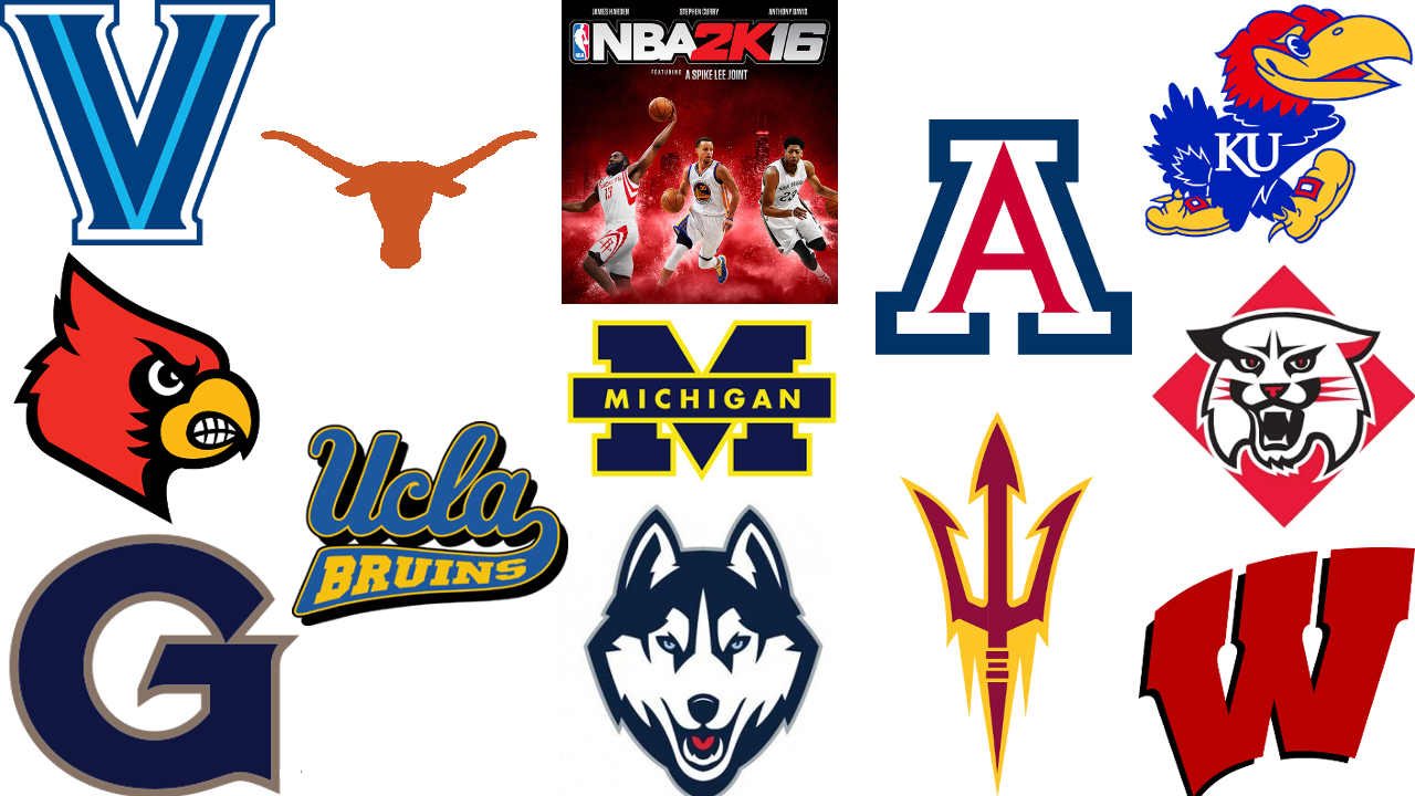 nba 2k16 features return of colleges | ncaa basketball | sporting news