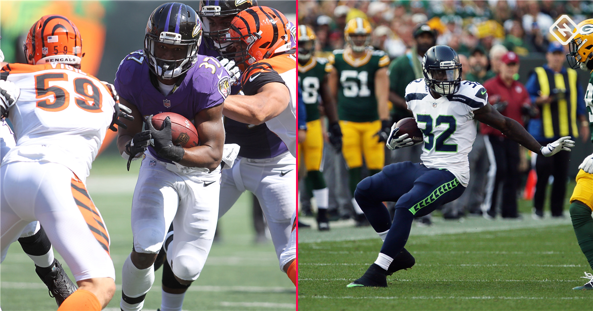 Week 2 Fantasy Sleepers Buck Allen Chris Carson Make For Tough