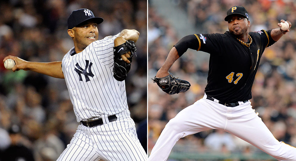 Mariano Rivera, Francisco Liriano.