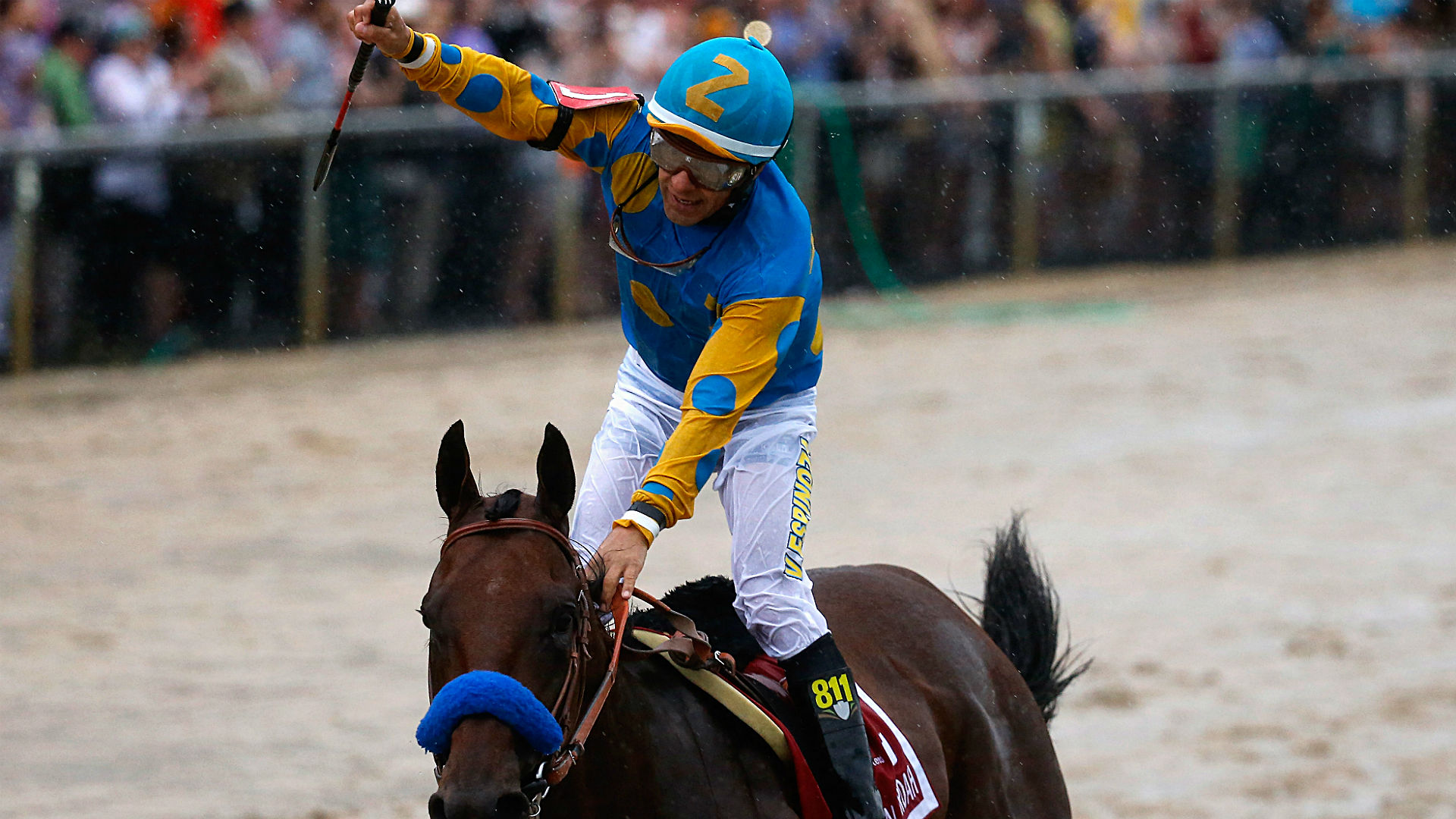When Triple Crown dreams are dashed, all eyes turn to the jockey