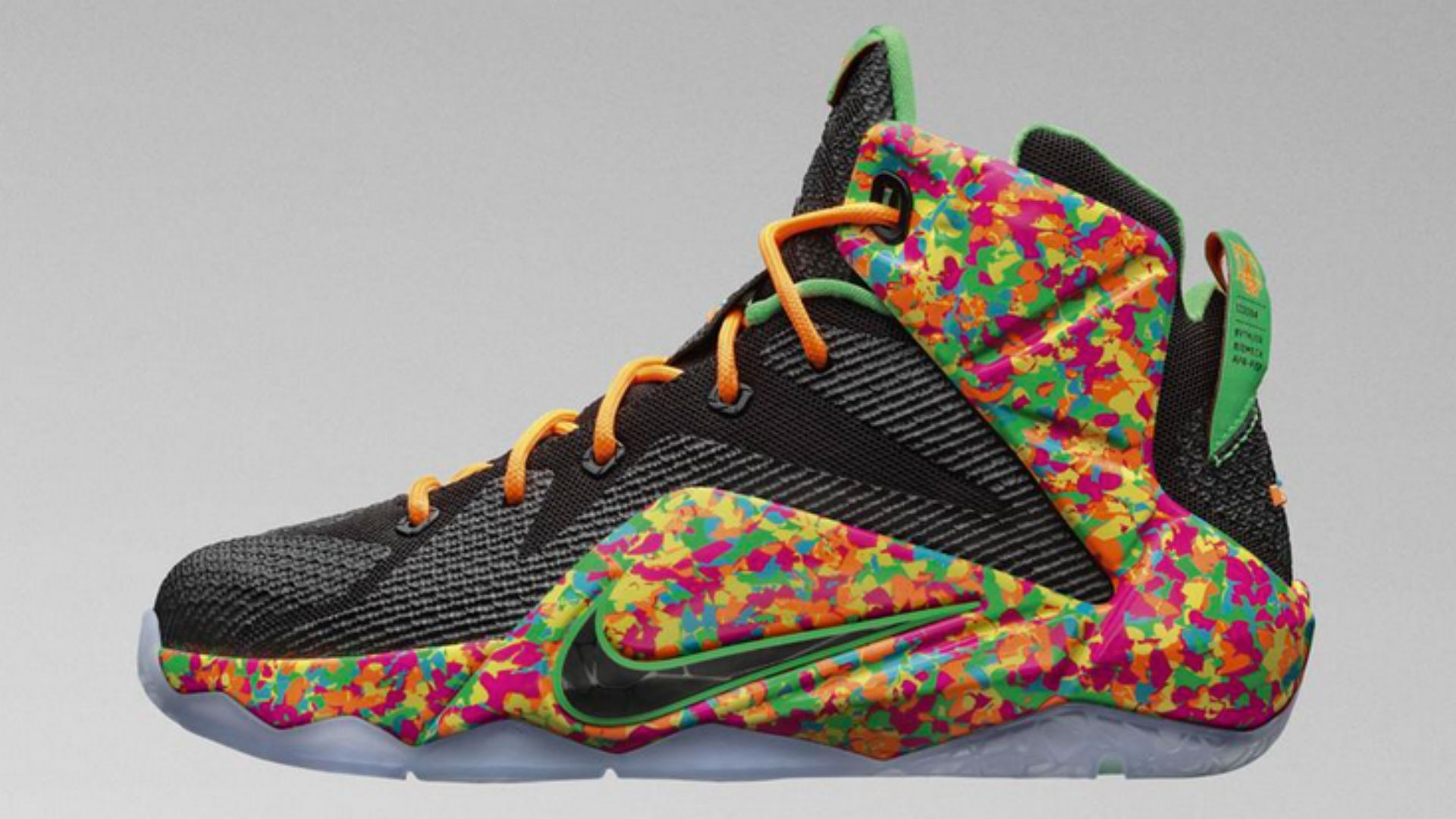 LeBron 12 gets a 'Fruity Pebbles' makeover