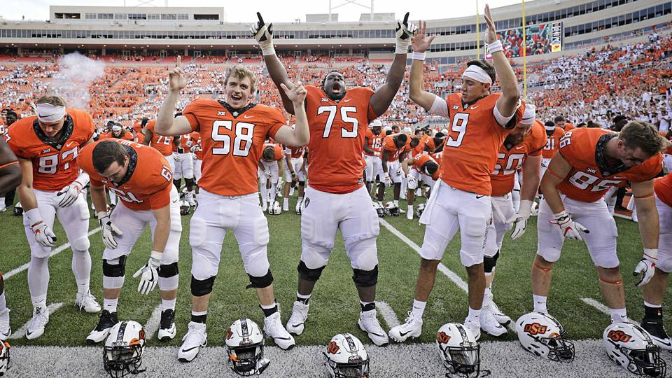 oklahoma state looks every bit a big 12 contender in rout of boise
