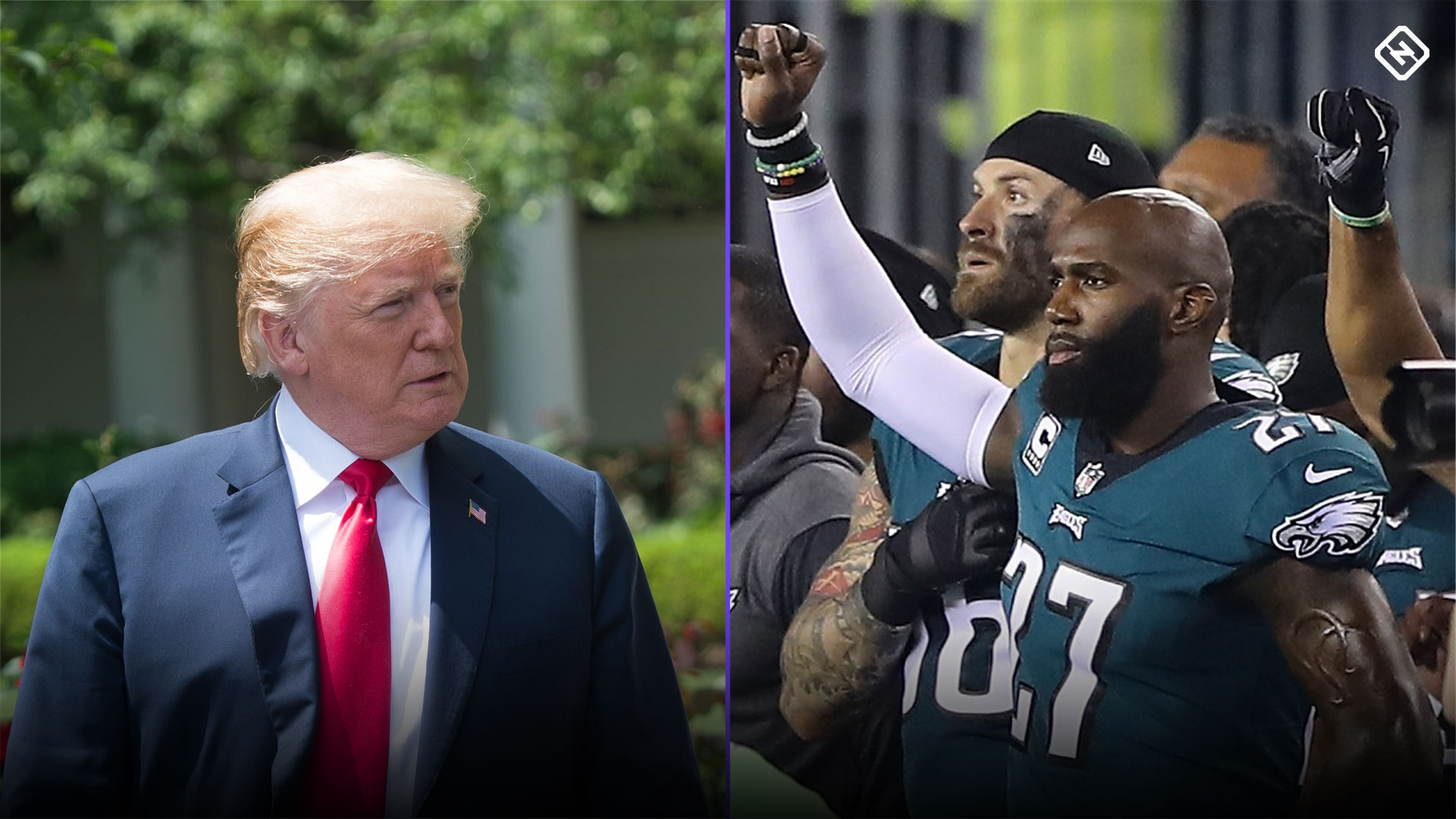 Eagles White House visit: NFL's anthem policy, Trump's words stir the pot