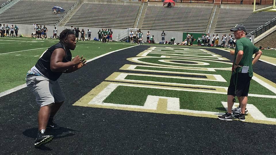Charlotte among those enjoying hidden benefits of satellite camp exposure | NCAA Football ...
