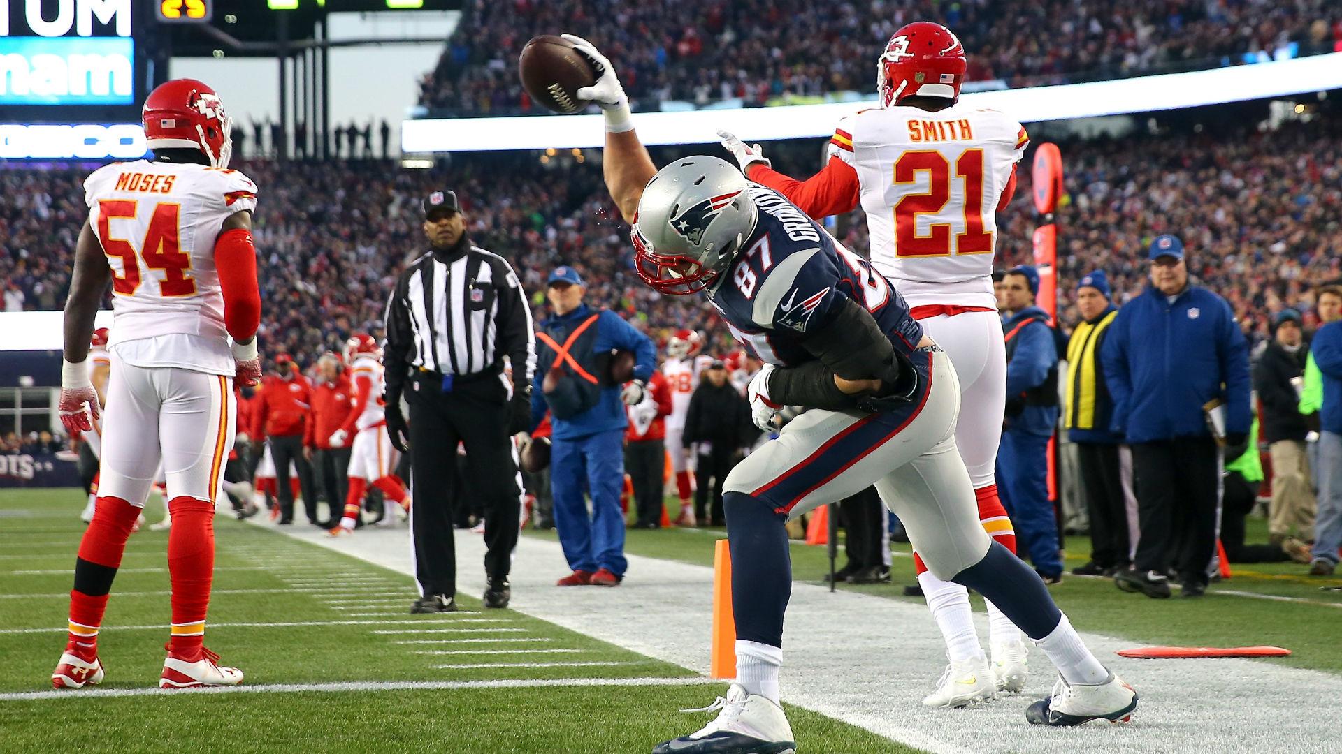 Gronkowski catch