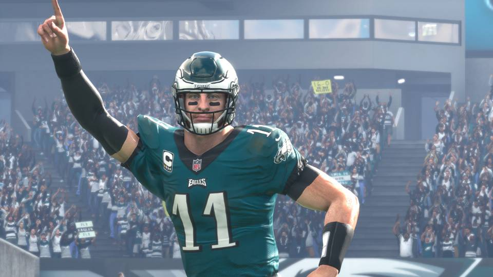 Madden NFL 18 Carson Wentz