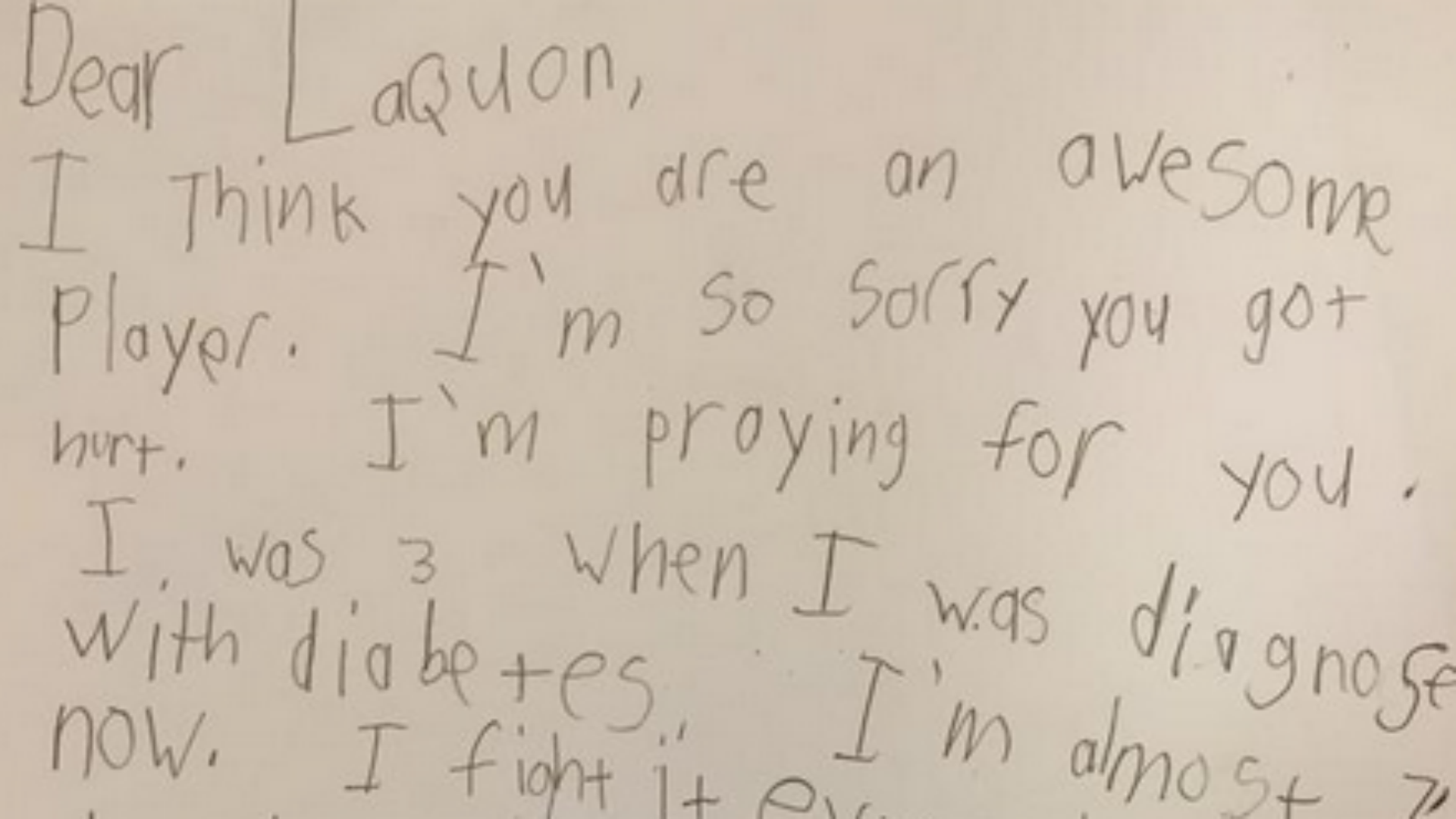 Laquon Treadwell Gets Outpouring Of Support From Children  Ncaa