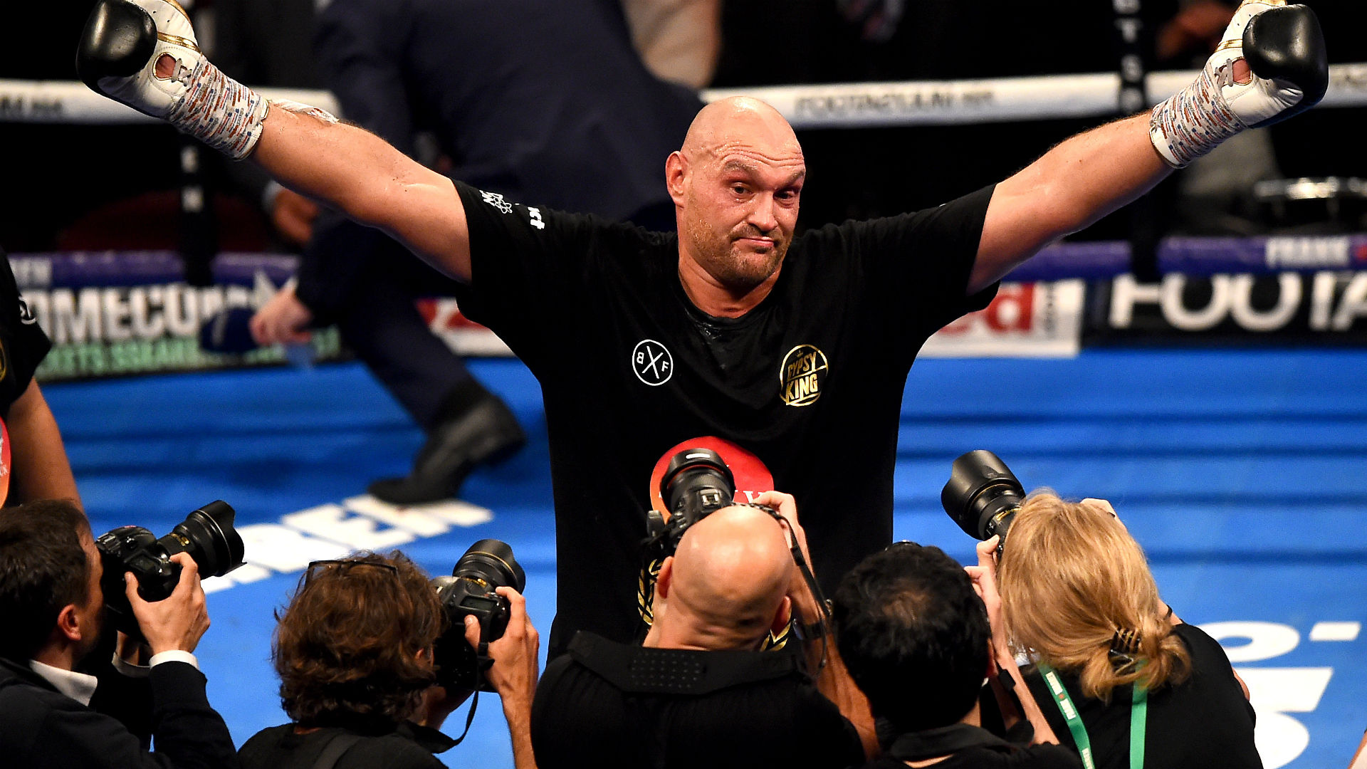 Tyson Fury: Anthony Joshua is a 'disgrace to boxing' for not facing Deontay Wilder