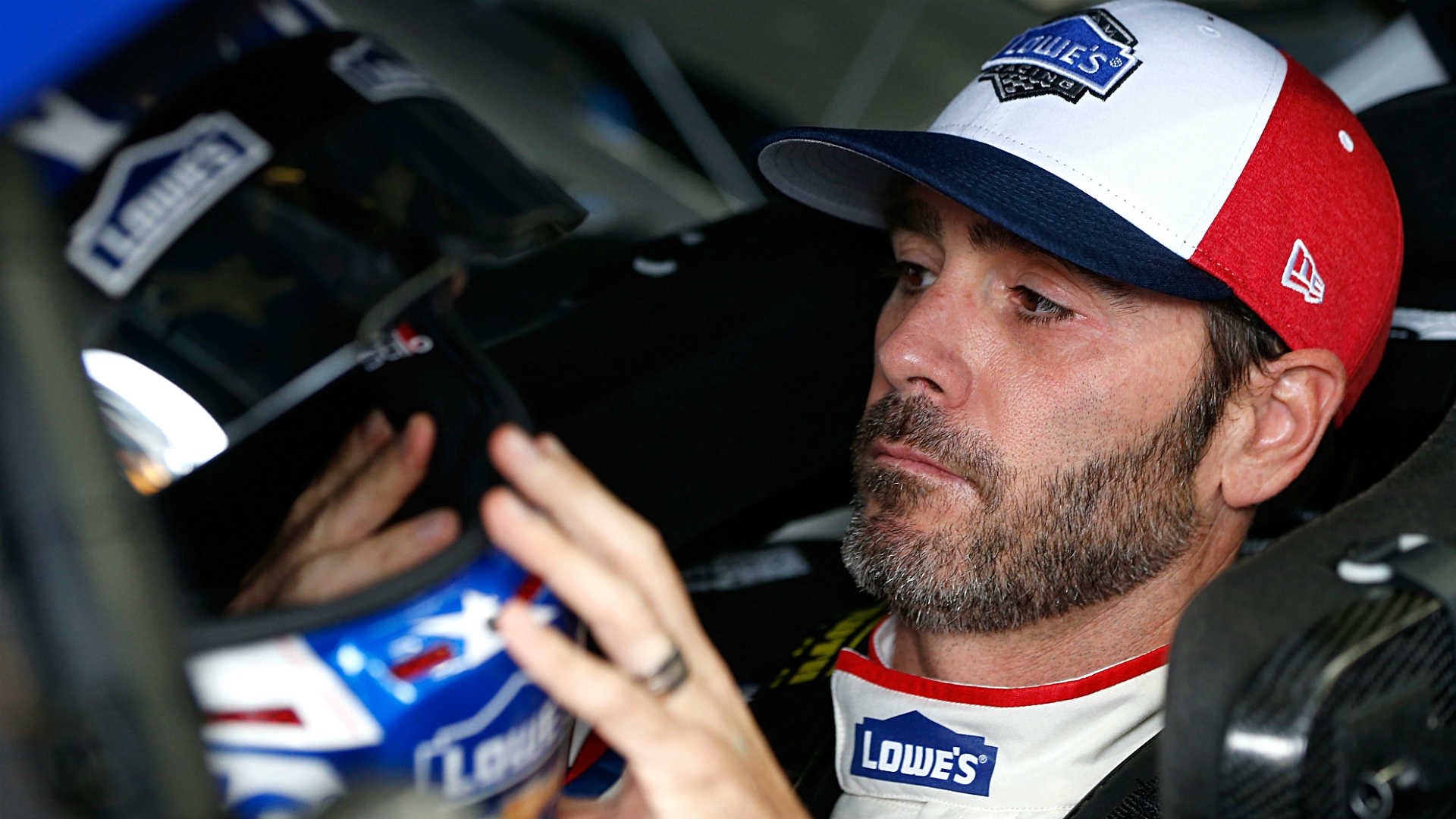 NASCAR at Charlotte: New primary sponsor for Jimmie Johnson? Get in line