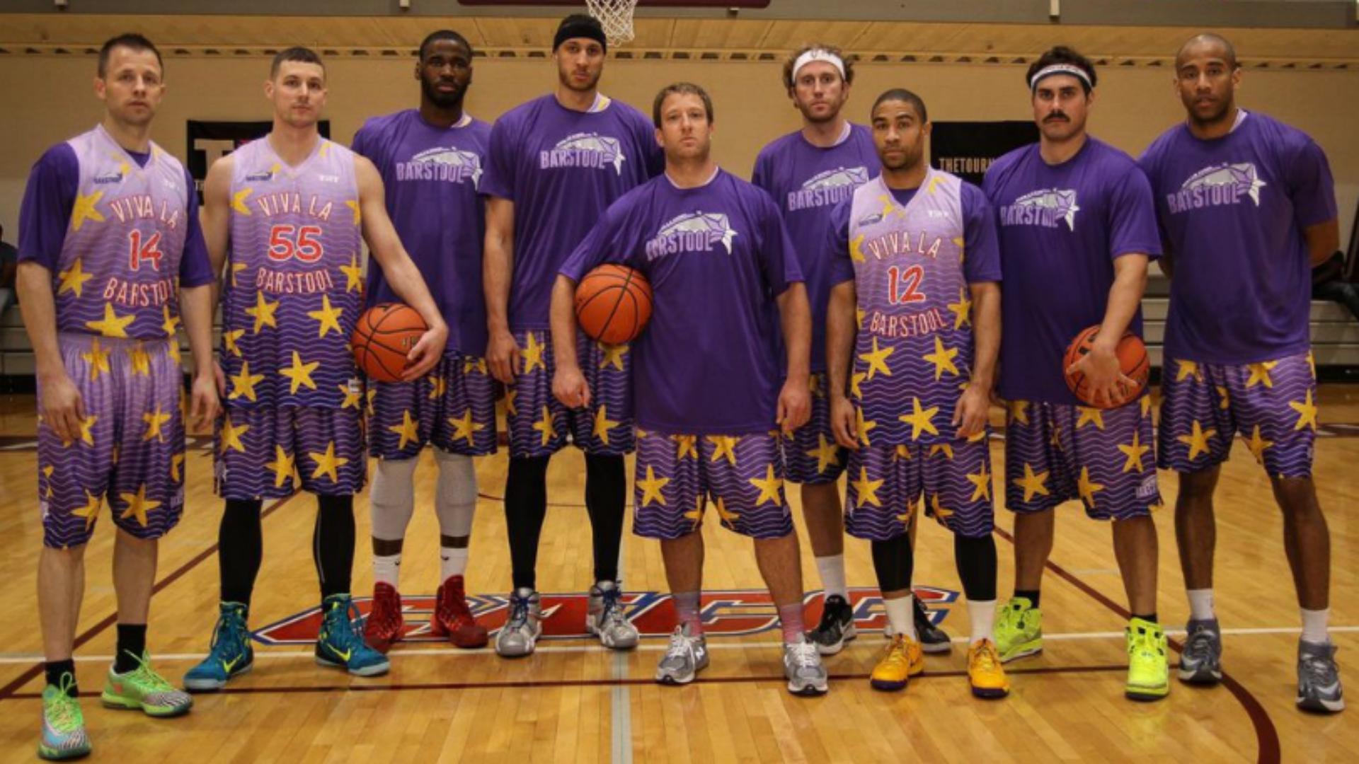 $500,000 open basketball tournament: Team Barstool vs ...