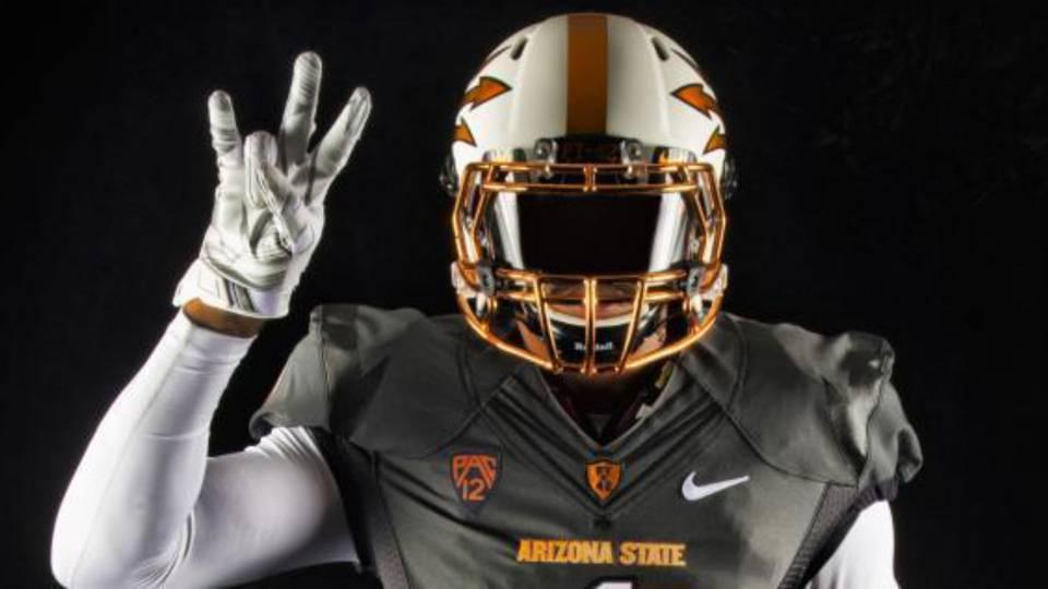fe8887362 Arizona State s new copper football uniforms are crazy