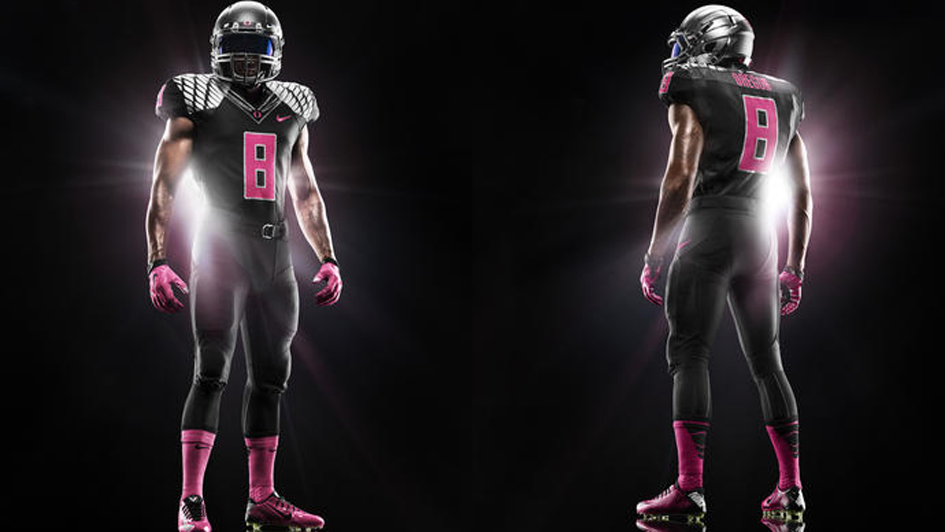 See Oregons Pink Uniforms For Breast Cancer Awareness