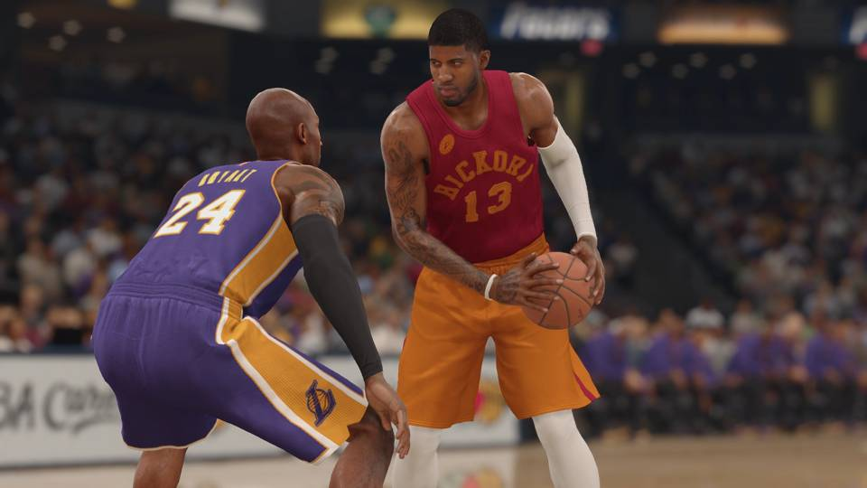 NBA Live 16 Indiana Pacers Hickory