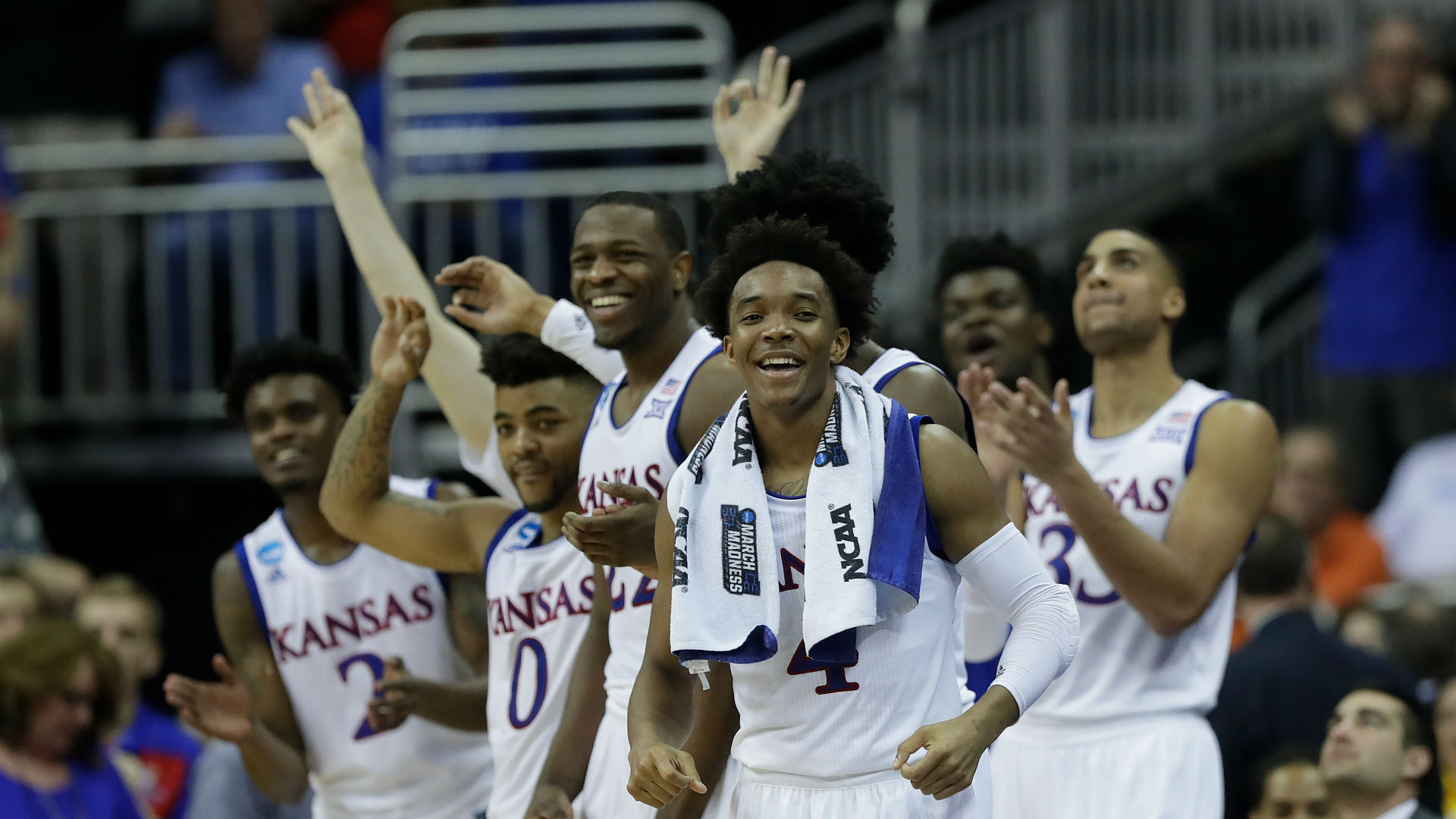 OR clocks Kansas to advance to first Final Four since 1939