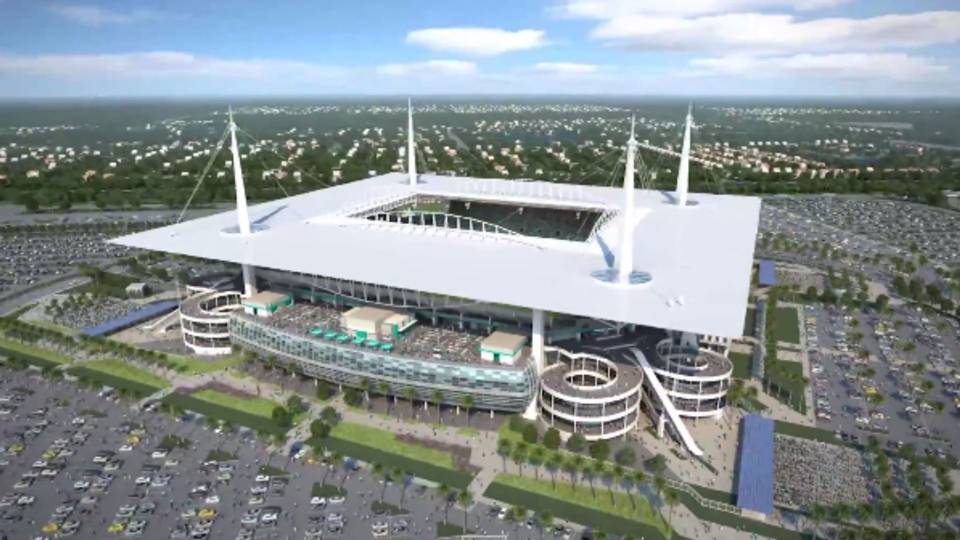 Sun Life Renovations : Dolphins release video detailing sun life stadium